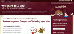 Adobe Flash and Google indexing, crawling - SEO